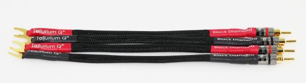 Tellurium Q Black Diamond Speaker Cable Links