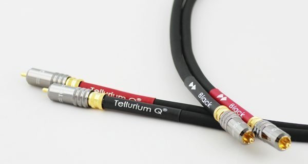 Tellurium Q Black interconnect